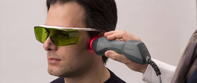 dental treatment using laser therapy